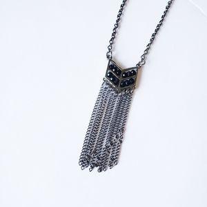 5/$25 Boho Chevron Adjustable Necklace